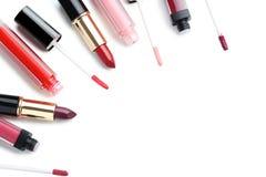Colorful lip gloss Stock Photo