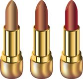 Colorful lipsticks Stock Photography