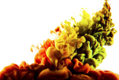 Colorful liquid art Royalty Free Stock Images