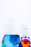 Colorful liquids Royalty Free Stock Photography