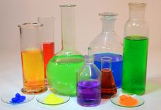 Chemistry Royalty Free Stock Image