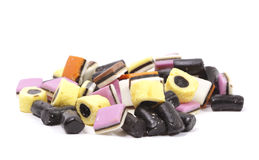 Colorful liquorice in close up Stock Photography