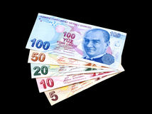Colorful Liras Royalty Free Stock Image