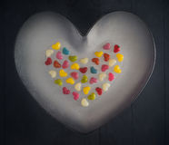 Colorful little hearts background great stock photos