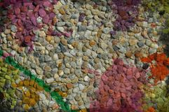 Colorful little rocks Royalty Free Stock Image