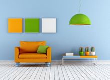 Colorful lounge Stock Photography