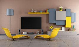 Colorful living room Royalty Free Stock Photography