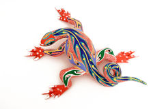Colorful lizard #1 Stock Image