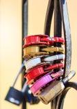 Colorful locks Stock Photo