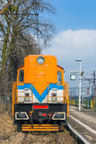 Colorful locomotive Royalty Free Stock Photo