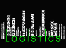 Colorful  LOGISTICS Stock Photo