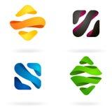 Colorful logo design Royalty Free Stock Photo