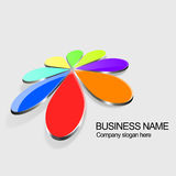Colorful Logo Royalty Free Stock Photography