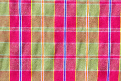 Colorful loincloth fabric background, texture Stock Photography