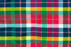 Colorful loincloth fabric background Royalty Free Stock Images
