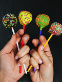 Colorful lolipop Royalty Free Stock Photo