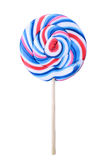 Colorful lolipop isolated on white Royalty Free Stock Photo