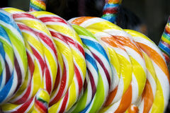 Colorful Lollies Stock Photos