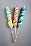 Colorful lollipop Stock Image