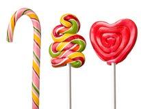 Colorful  lollipop Stock Photos