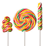 Colorful  lollipop Stock Photo