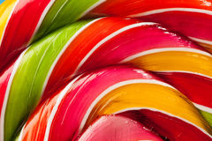 Colorful lollipop candy backdrop Royalty Free Stock Photography