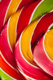 Colorful lollipop candy backdrop Royalty Free Stock Photo