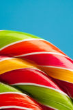 Colorful lollipop candy backdrop Royalty Free Stock Photos