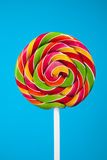 Colorful lollipop candy Stock Photography