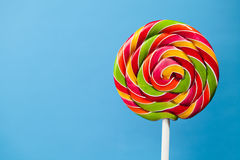 Colorful lollipop candy Royalty Free Stock Photo