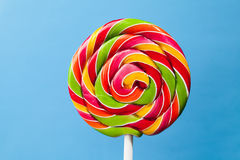 Colorful lollipop candy Stock Image
