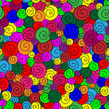 Colorful lollipop vector Royalty Free Stock Image