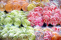 Colorful lollipops Royalty Free Stock Photo