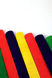 Colorful lolly sticks Royalty Free Stock Images