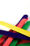 Colorful lolly sticks Royalty Free Stock Photo
