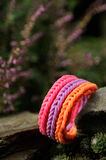 Colorful loom band Royalty Free Stock Photography