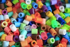 Colorful loose beads Stock Photography