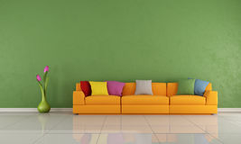 Colorful lounge Stock Photos