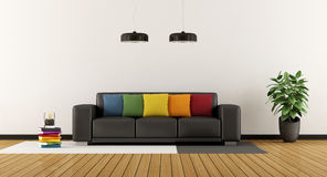 Colorful lounge Royalty Free Stock Image