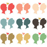 Colorful Lover Royalty Free Stock Images