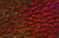 Colorful low poly vector background Royalty Free Stock Photography