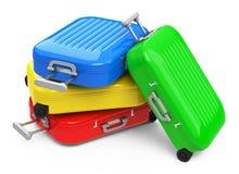Colorful luggage Stock Image