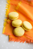 Colorful macaron cookies Stock Photography