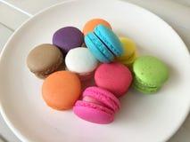 Colorful of Macaron Stock Photo