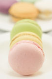 Colorful macaron Stock Photos
