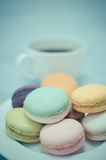 Colorful macaron Royalty Free Stock Photo