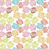 Colorful macaron sweet cake. Royalty Free Stock Images