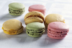 Colorful macaron Royalty Free Stock Images