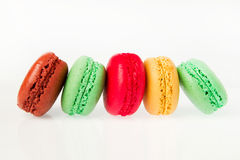 Colorful macaron Royalty Free Stock Photography