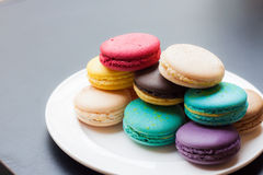 Colorful macaron Stock Photography